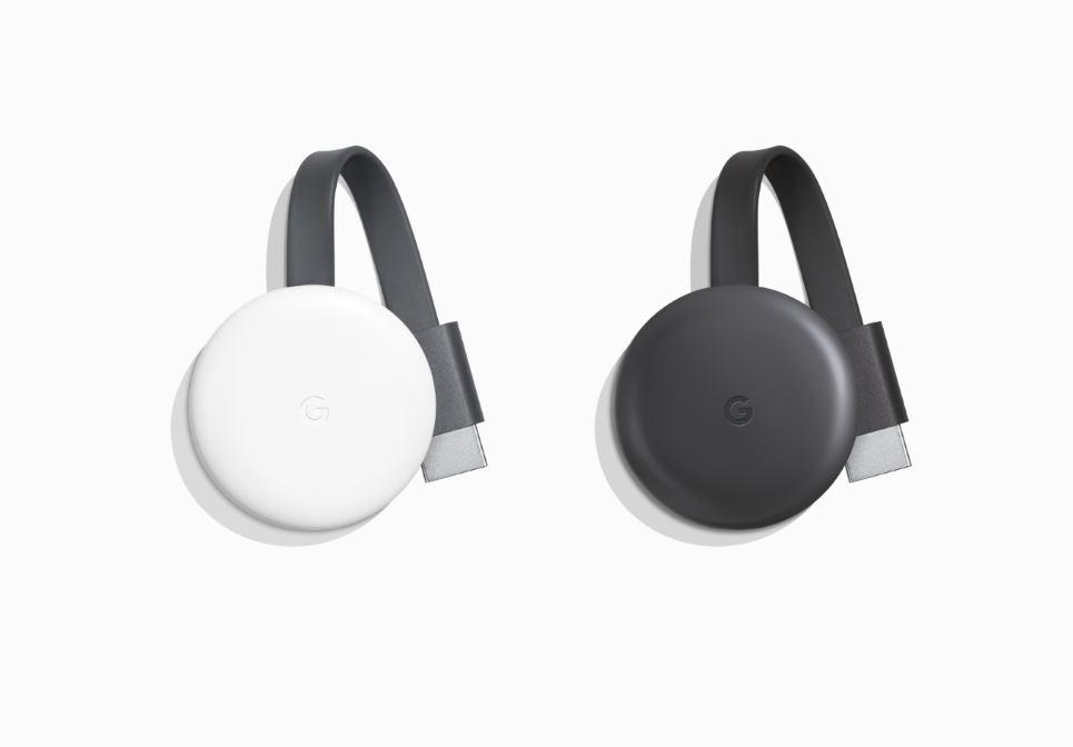 Google Chromecast Generation 3 Header