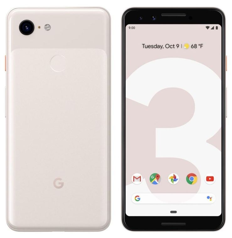 Google Pixel 3 sand