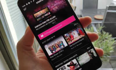 Magenta TV Android App Header