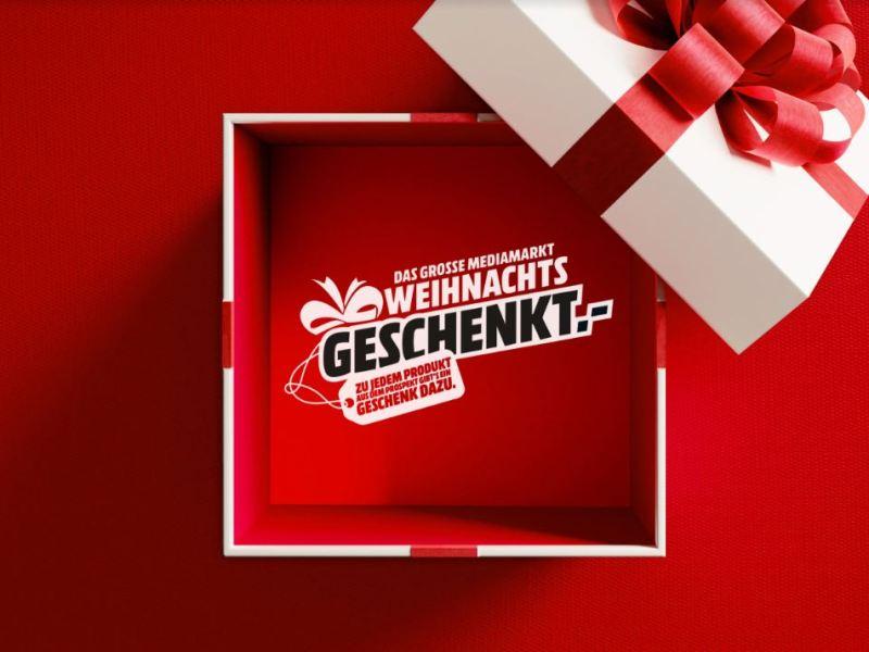 MediaMarkt Geschenkeflyer Aktion 2018