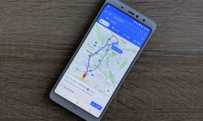 Google Maps Header