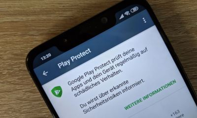 Google Play Protect Header