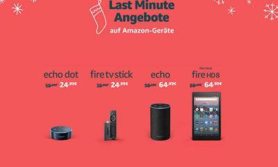Amazon Devices Last-Minute-Rabatte