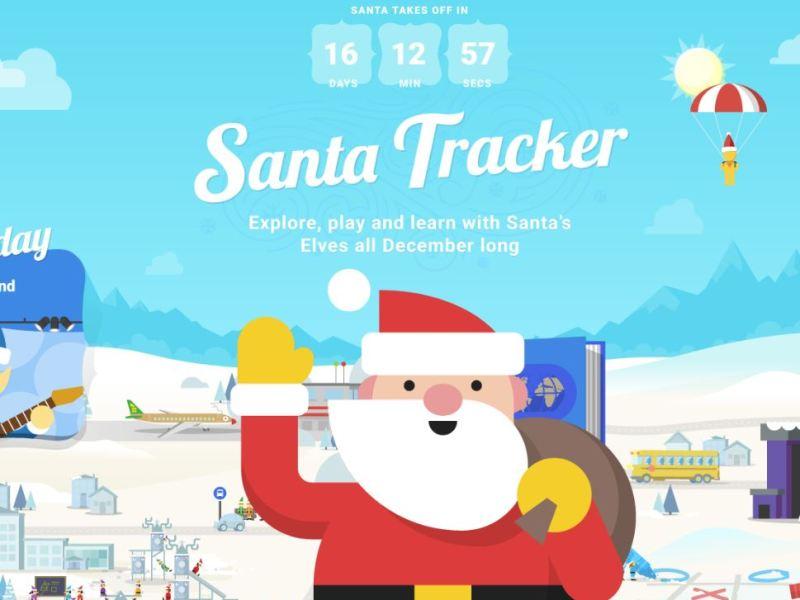 Santa Tracker Header