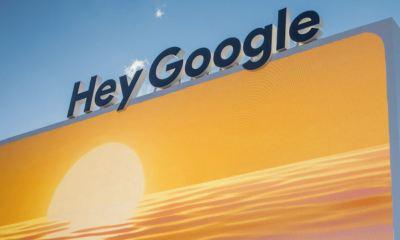 Hey Google Header