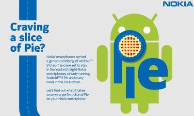 Nokia Update-Prozess Pie