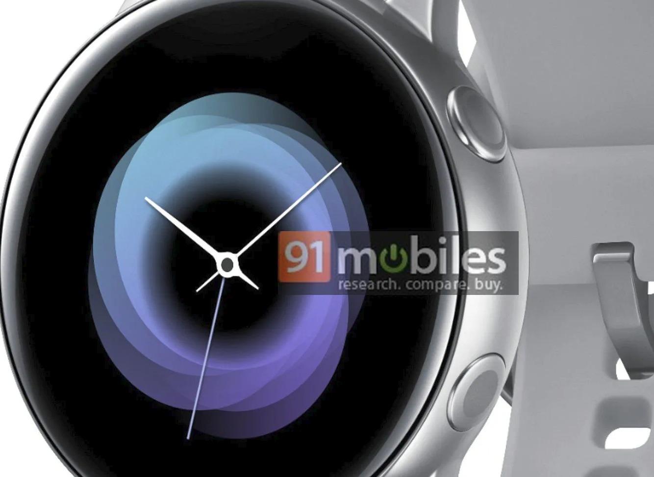 Samsung Galaxy Watch Active: Das Datenblatt ist bekannt (Update im Artikel)