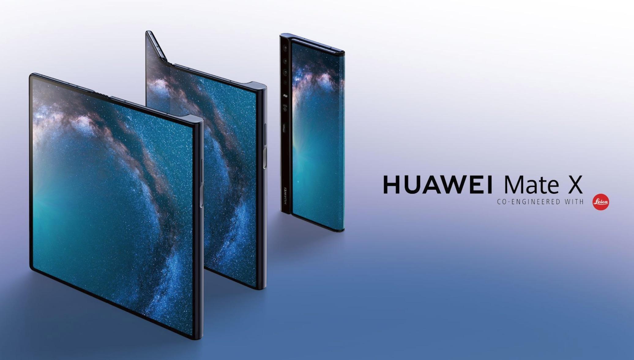 Huawei knackt Smartphone-Rekord und bringt Mate X in den Verkauf