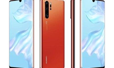 Huawei P30 Pro Sunrise Red