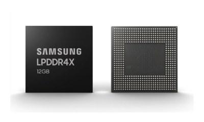 Samsung LPDDR4x 12 GB RAM Header