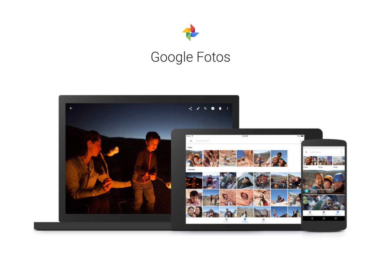 Google Fotos zeigt Werbeanzeigen
