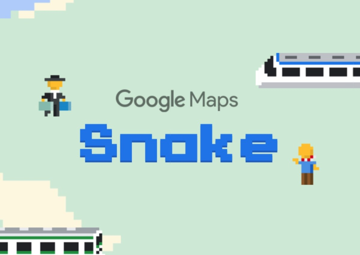 google maps snake header