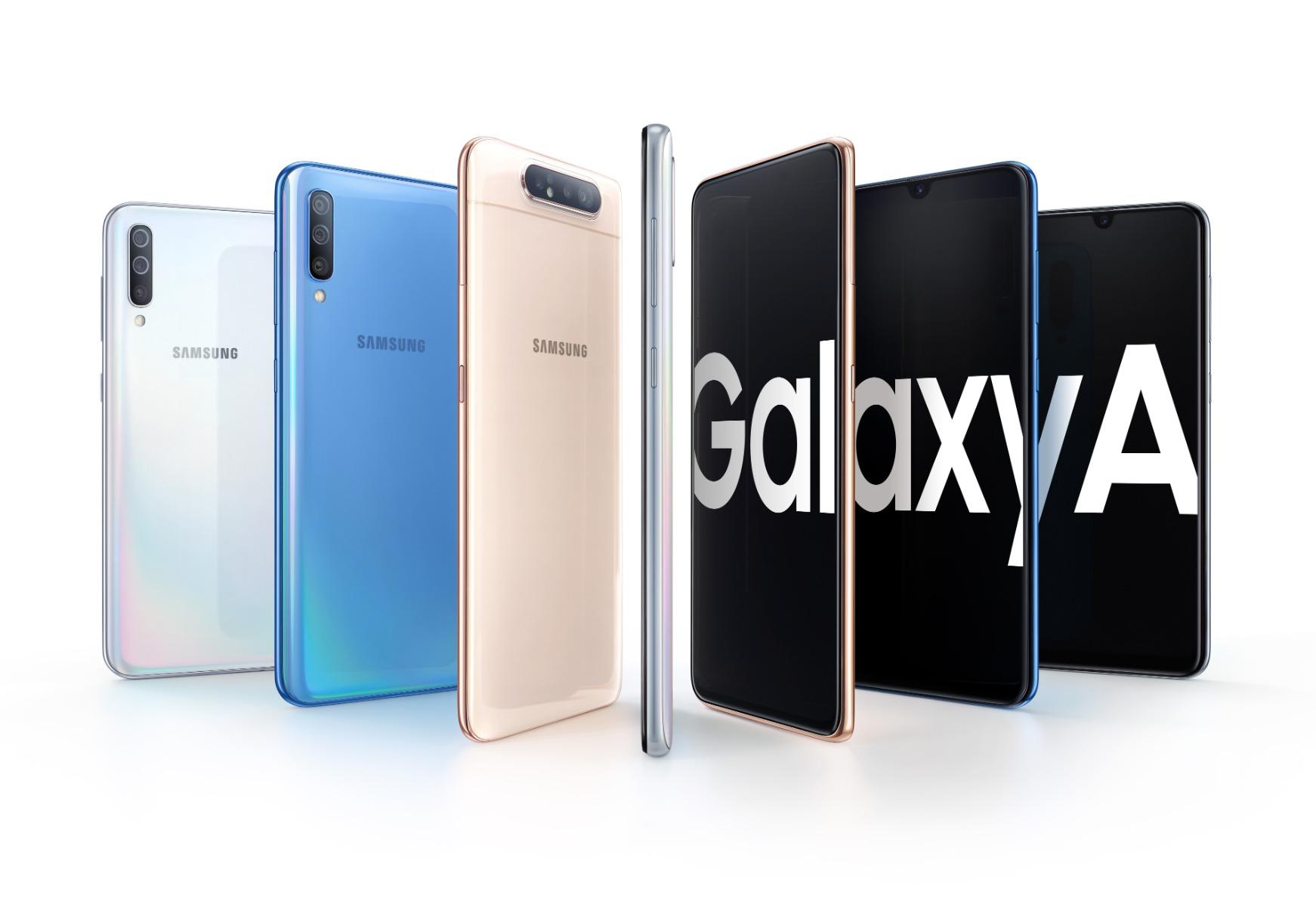 Samsung Galaxy A-Serie 2020: Angeblich bis zu 108 MP in den Kameras