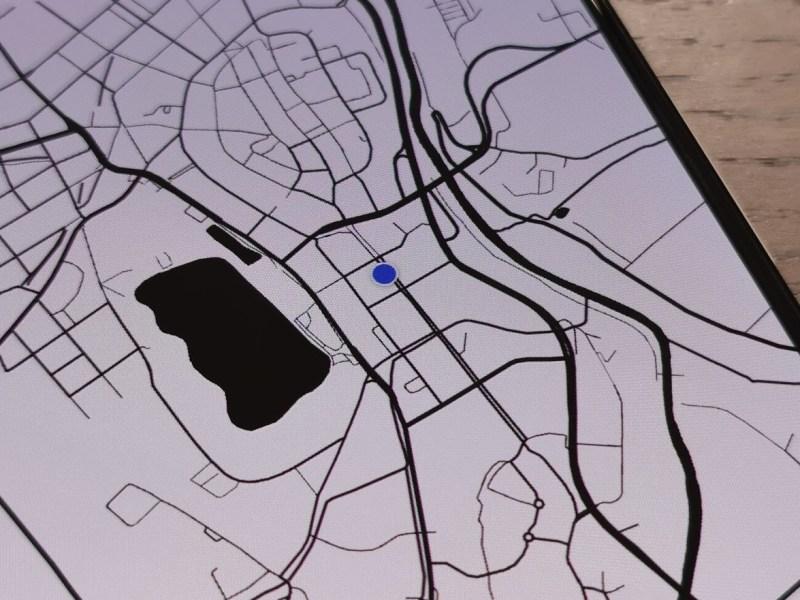 Standort Punkt Header
