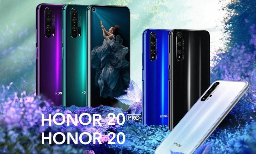 Honor 20 Serie Header