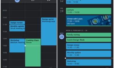 Google Kalender Dark Mode Android
