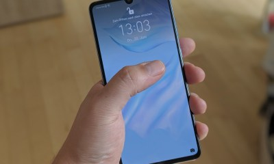 Huawei P30 Testbericht Display Header