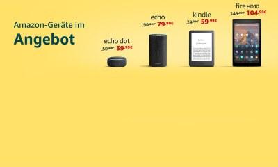 Amazon-Geräte im Angebot Juni 2019