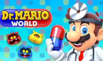 Dr Mario World Header