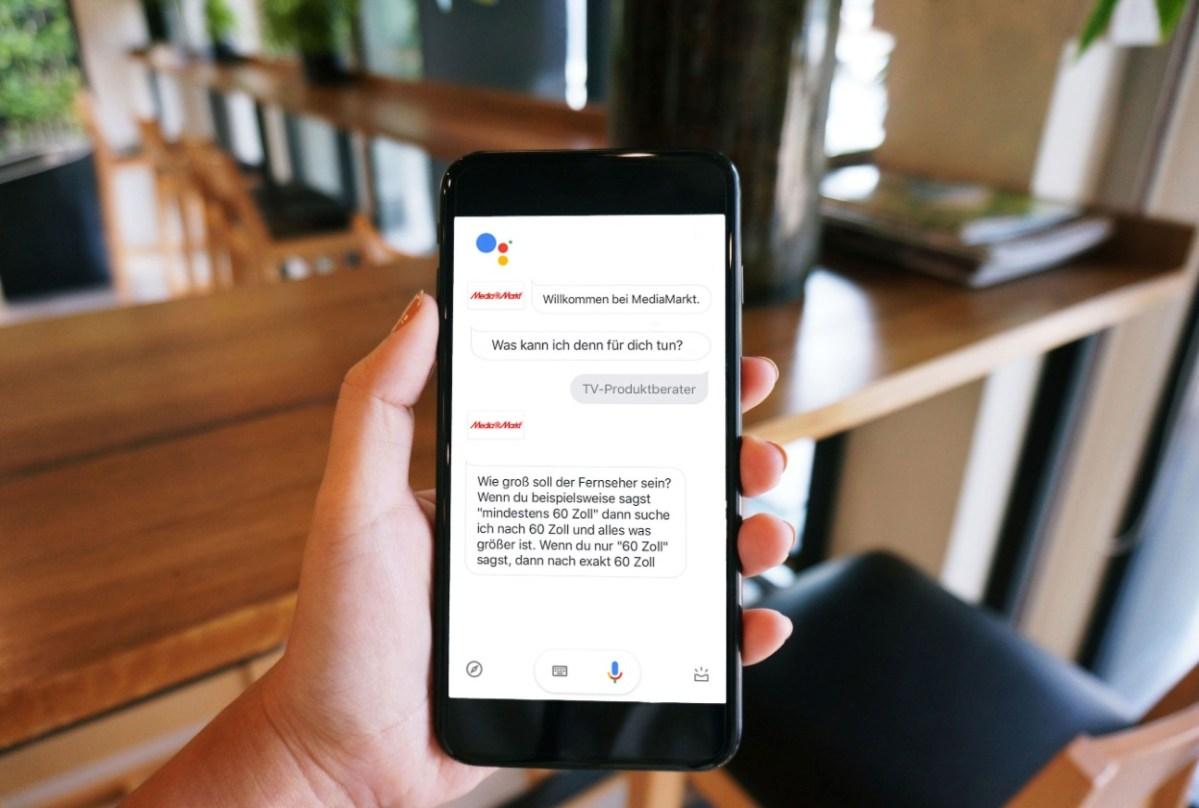 Google Assistant MediaMarkt TV Skill