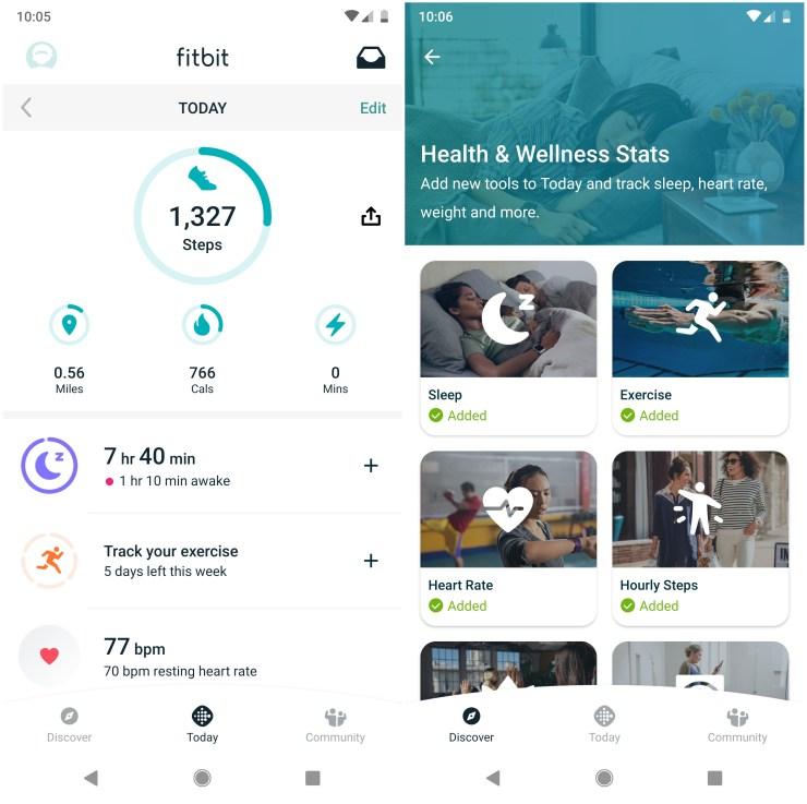 Fitbit App Redesign