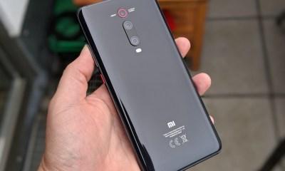 Xiaomi Mi 9T Test Header Rückseite