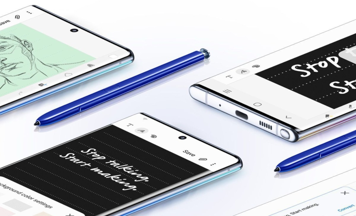 Samsung Galaxy Note 10 Header