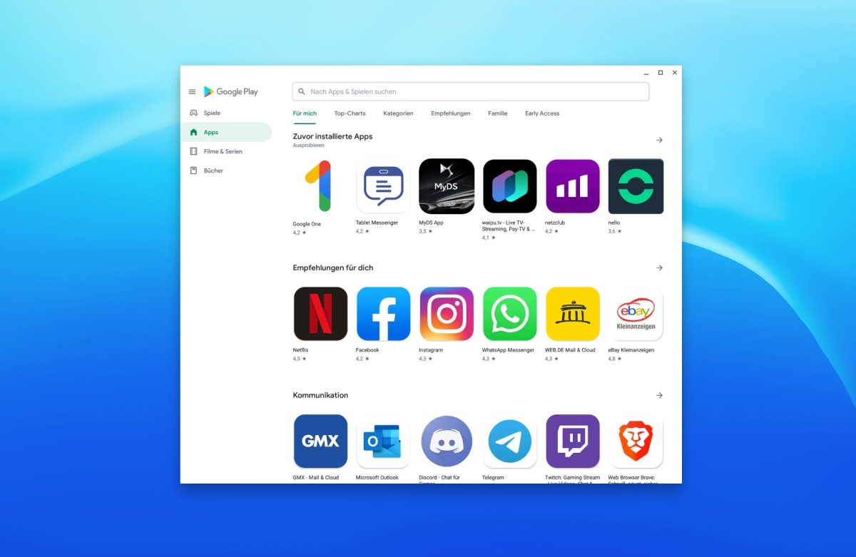 Google Play Store 2019 Design