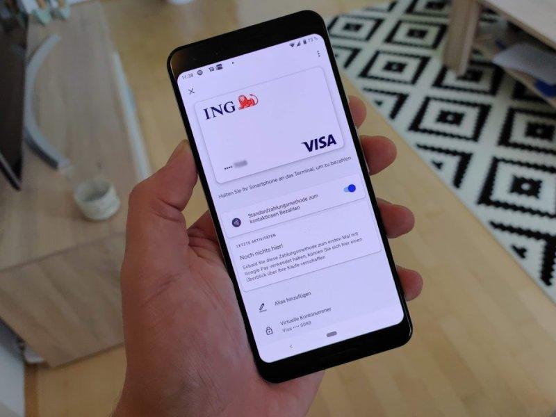 ING Google Pay Header