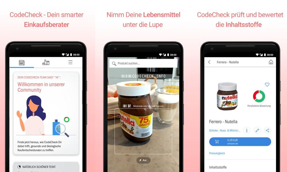 App Inhaltsstoffe Scannen