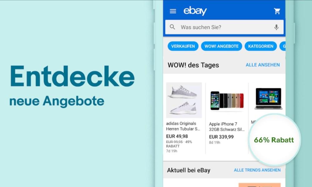 Ebay App Header