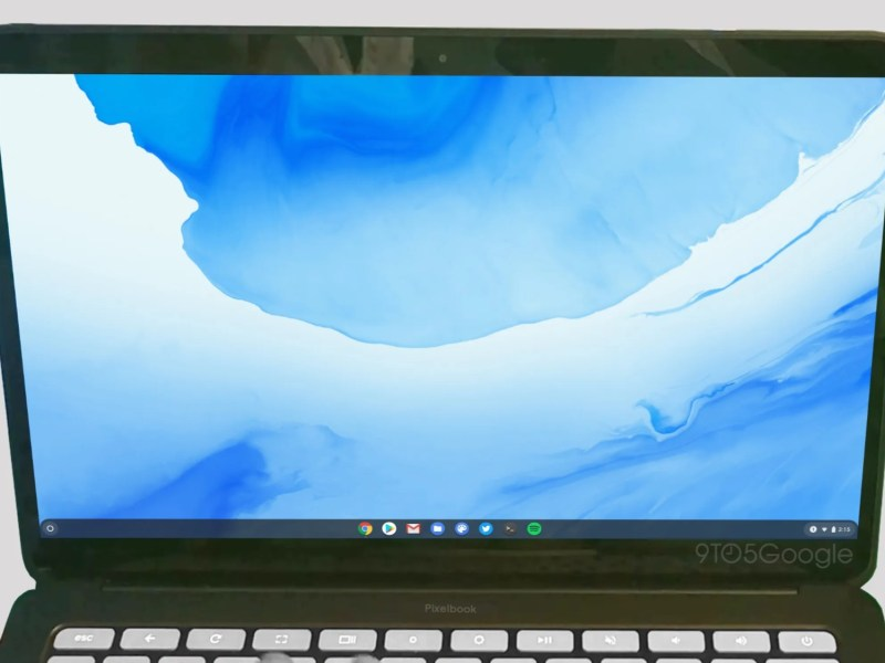 Google Pixelbook Go Leak