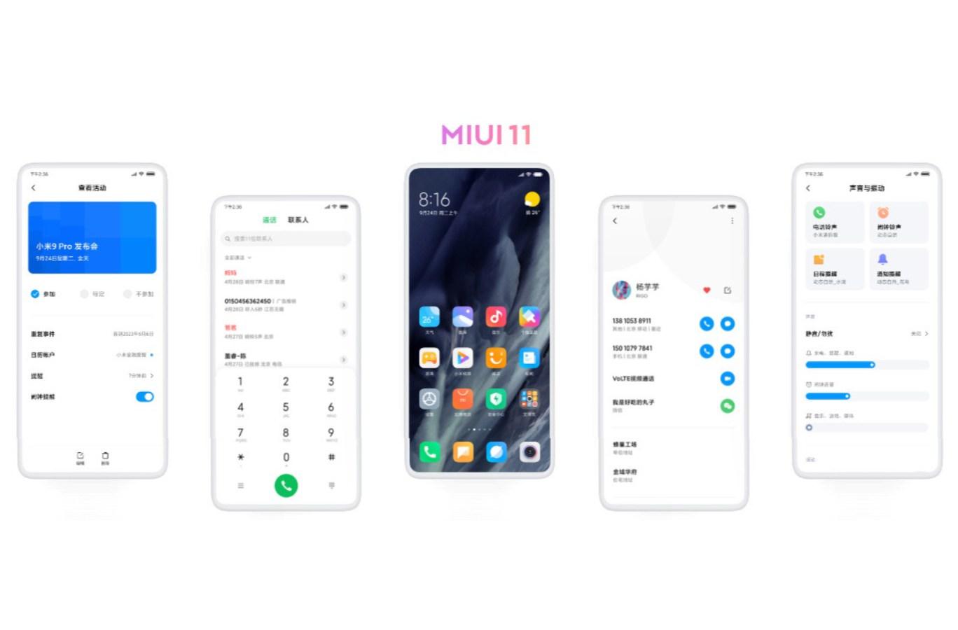MIUI 11 für Xiaomi-Smartphones kommt nächste Woche