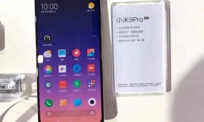 XIaomi Mi 9 Pro 5G Leak