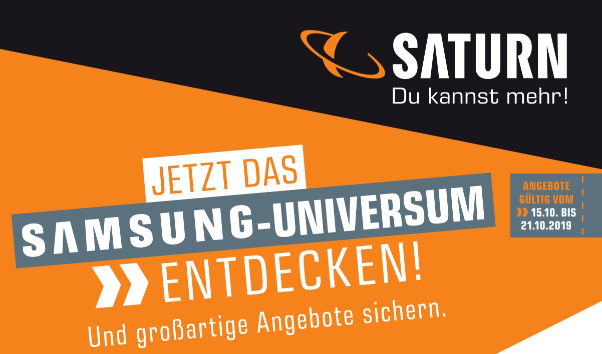 Saturn startet Prospekt mit Samsung-Angeboten: Galaxy-Tablets, Watch Active und noch einiges mehr