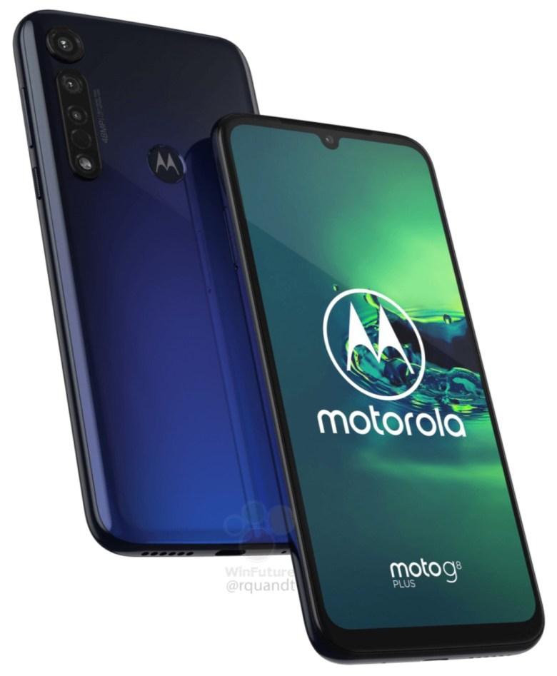 Moto G8 Plus Leak