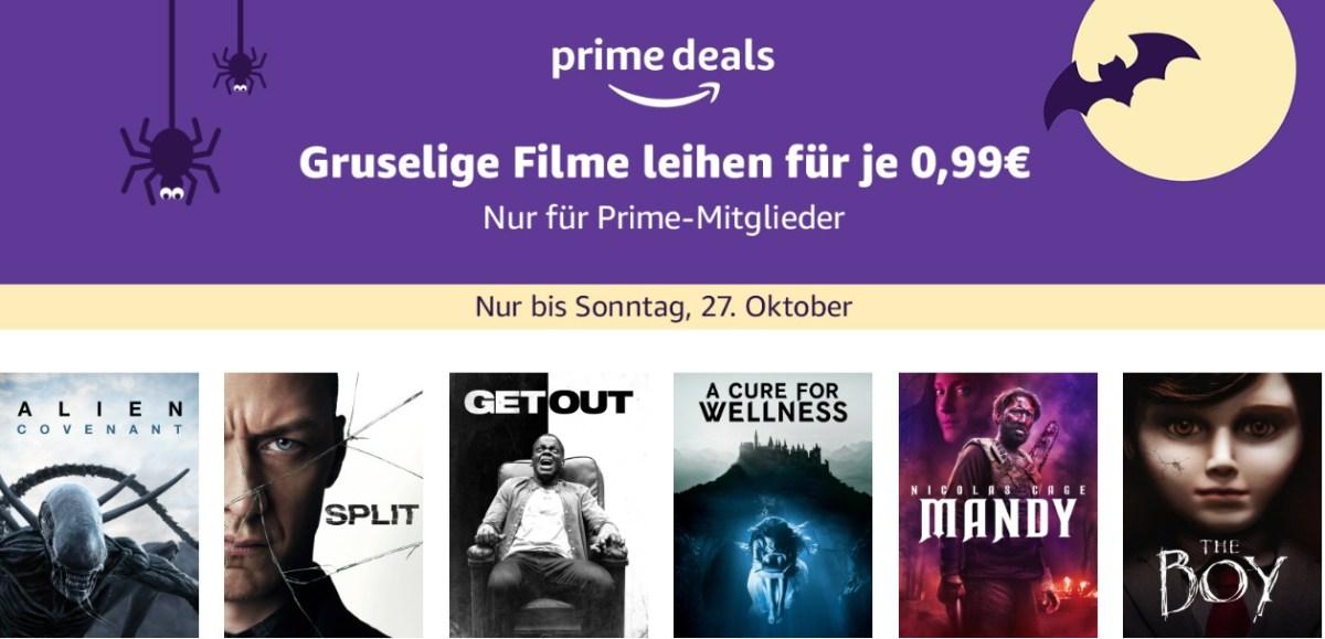Prime Deals Oktober 2019