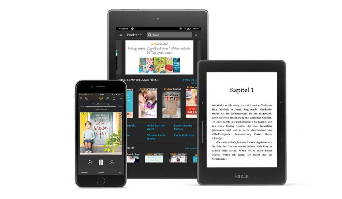 Amazon Kindle Unlimited Header