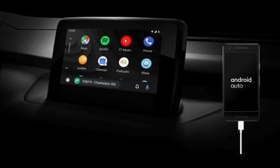 Android Auto Header
