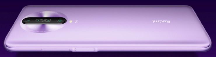 Redmi K30 5G Seitenansicht