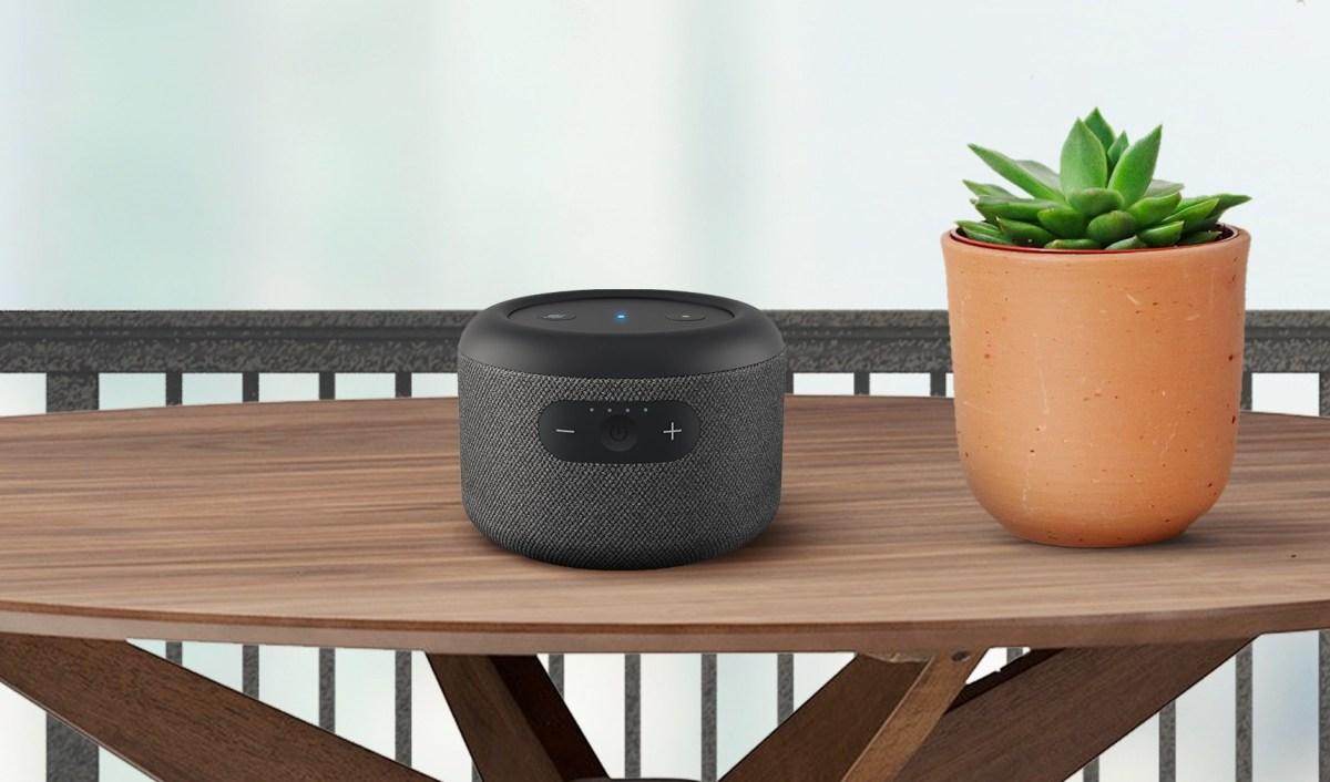 Amazon Echo Dot Portabel