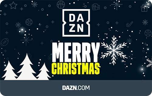 DAZN Weihnachten Gutscheinkarte Jahr