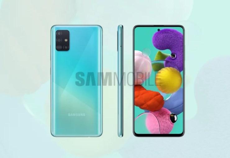 Samsung Galaxy A51 Leak2