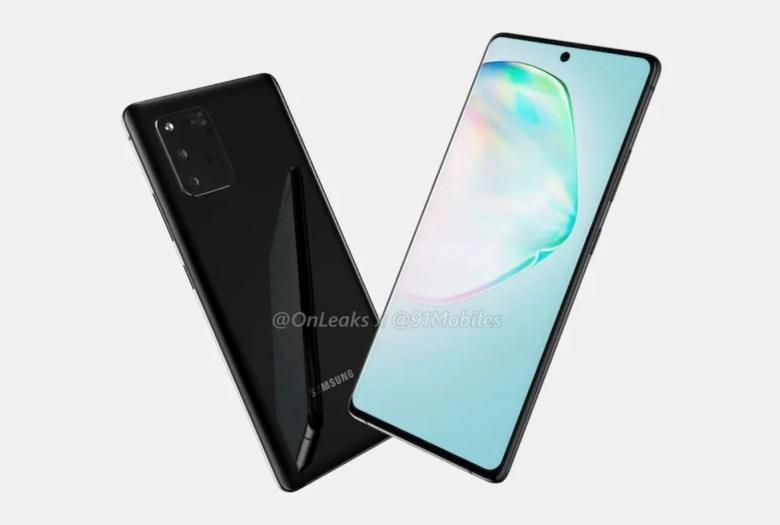 Samsung Galaxy A91 S10 Lite Leak2