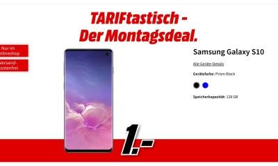 Samsung Galaxy S10 1 Euro