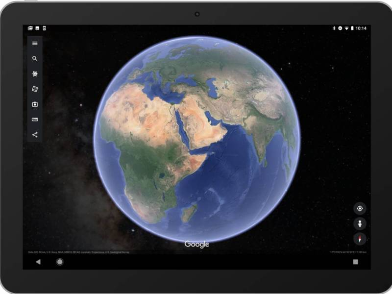 Google Earth Sterne Android App