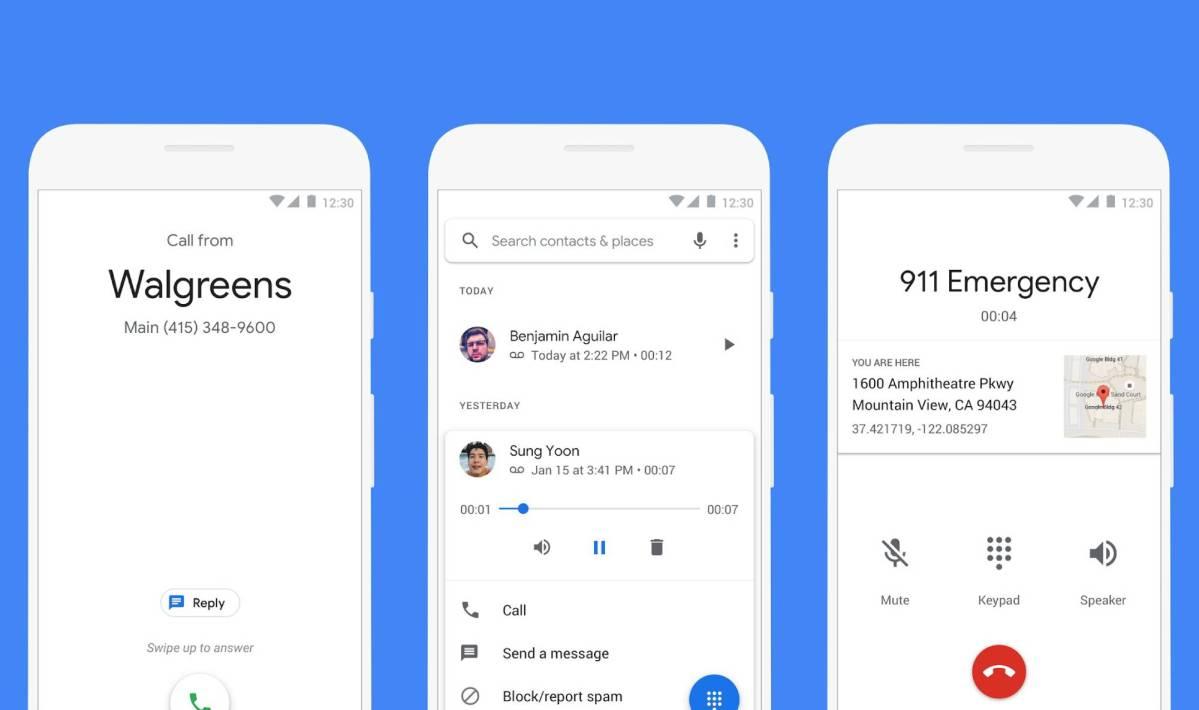 Google Telefon App