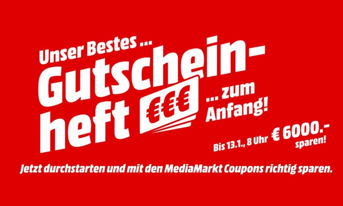 MediaMarkt Gutscheinheft 2020