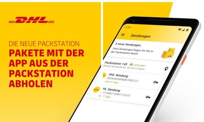 Packstation Kompakt Android App Dhl