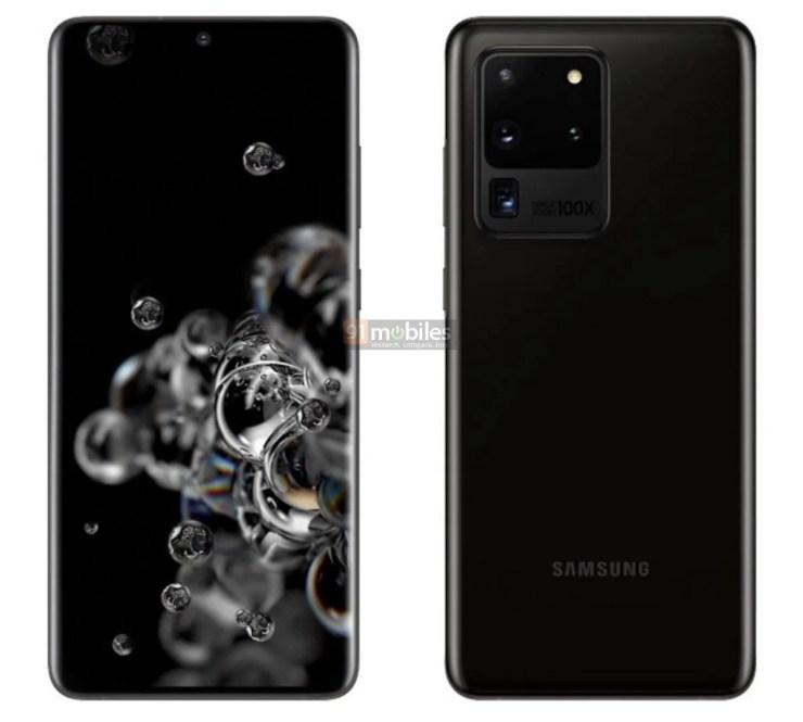 Samsung Galaxy S20 Ultra Leak 2